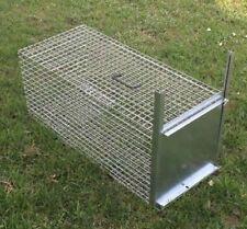 gabbia Trappola animali vari, gatti, nutrie, conigli ,donnole,nutrie  82x36x36