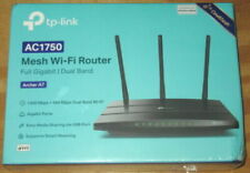 TP-LINK AC1750 MESH WI-FI ROUTER NEW SEALED IN BOX ARCHER A7 DUAL BAND