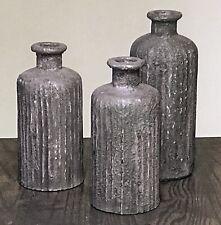 Porcelain Bottle set Accent Decor