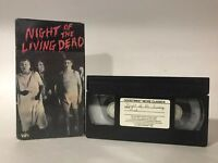 George Romero's Night of the Living Dead (Goodtimes VHS, 1984) Zombie Horror