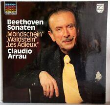 "12"" Vinyl - Beethoven Sonaten - CLAUDIO ARRAU - Mondschein-Waldstein-Les Adieux"