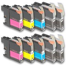 10 Druckerpatronen für Brother MFC-J475DW MFC-J650DW MFC-J870DW MFC-J970DW