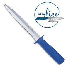 """F Dick 8"""" Double Sided Pig Sticking Knife - High Carbon Stainless Blade"""