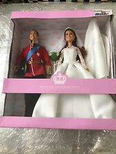 Barbie Royal Wedding Prince William And Catherine Kate Middleton