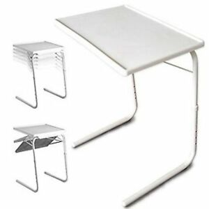 Small Folding Table Sofa Snack Dinner Foldable Bed Adjustable Office Desk Stand
