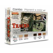 Lifecolor SPG02 Tracks / Schienen Combo Pigment&Color Set 6x22 ml (100ml=15,91€)