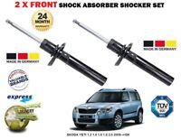 FOR SKODA YETI 1.2 1.4 1.6 1.8 2.0 2009->NEW 2x FRONT SHOCK ABSORBER SHOCKER SET