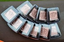 Lot of 10 Rimmel London Colour Rush Mono Eye Shadow BNIB 2.4g -060 Bronzed-