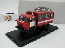 """Start scale models ssm1198-gaz-66 Vigili del Fuoco Bus in """"rosso-bianco"""" 1:43 NUOVO"""