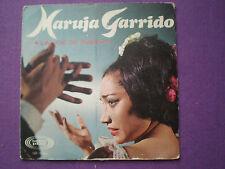 MARUJA GARRIDO La Voz De Fuego SPAIN EP SONOPLAY 1966 Flamenco Rumba