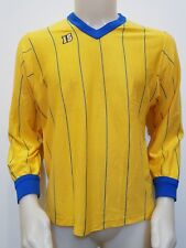 MAGLIA CALCIO SHIRT VINTAGE IS N.6 TG.M MATCH FOOTBALL MAILLOT OLD TRIKOT IT72