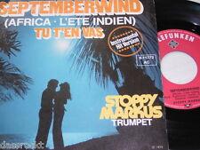 """7"""" - Stoppy Markus / Septemberwind & Tu T´en vas - 1975 # 2629"""