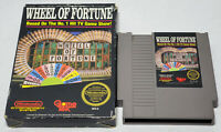 Wheel of Fortune 3 Screw (Nintendo Entertainment System, 1988) Boxed No Manual
