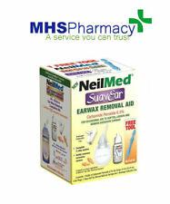 NEW NeilMed SuavEar Earwax Removal Aid, Drops & Syringe