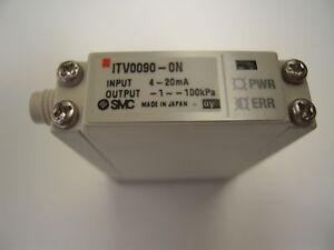 SMC ITV0090-0N, 4-20ma, -1 to -100kPa Vacuum Regulator