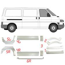 VW TRANSPORTER T4 BJ. 1990 - 2003 kurz  Reparaturblech Einstiegblech Satz