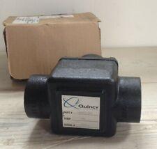 Quincy Luft Kompressor 125657-005 Ventil Thermo 162S 180F 250WP , Echt, Neu, OEM