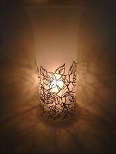 One glass centerpieces Candle Holders Tea Light dinner light rose