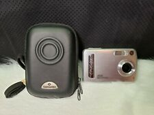 Polaroid A520 5MP Digital Camera with 4x Optical Zoom - Silver, Bundle
