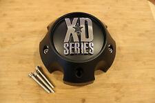 KMC XD Series 796 797 798 Matte Black 5 Lug Wheel Center Cap 1079L140A w/ Screws