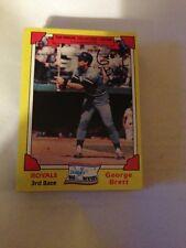 2 1982 Drakes Cakes Baseball Card George Brett #4  HOF Royals - Vintage