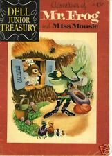 RARE DC  MR. FROG AND MISS MOUSE #4, APR.1956, VF