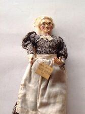 """Rare Antique Eubank Collectible """"Aunt Polly"""" Doll Mark Twain 10 1/2"""""""