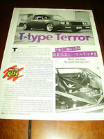 1987 BUICK GRAND NATIONAL TURBO T 210 MPH   ***ORIGINAL 1997 ARTICLE***