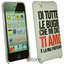 Cover Case Ipod Touch 4 4G Lies Ti Amo + Screen Protector Film