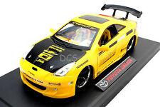 JADA IMPORT RACER 2003 TOYOTA CELICA YELLOW 1/18 DIECAST CAR 63184