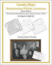 Family Maps Natchitoches Parish Louisiana Genealogy Pla
