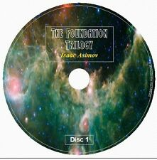 THE FOUNDATION TRILOGY by Isaac Asimov 8 Audio CD Galaxy Space Opera Hari Seldon