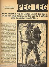 Peg Leg - The Mysterious Arizona Hermit
