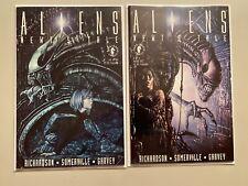 Aliens Newt's Tale Dark Horse Comics Set #1+2 6.0 FN (1992)