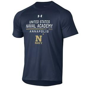 US Naval Academy Navy Under Armour Athletic Tee Shirt