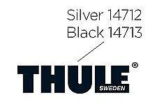 Aufkleber Thule Silber für Dachboxen