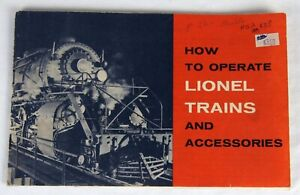 Original Lionel 1960 How to Operate Lionel Trains and Accessories