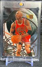 Michael Jordan 1995-96 Fleer Metal Maximum Metal Die Cut amazing insert. RARE
