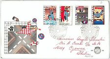 61577 -  The NETHERLANDS - POSTAL HISTORY:  FDC COVER 1977 - CHILDREN Safety
