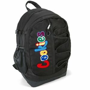 NWT Cookies SF Smell Proof The Bungee Backpack Black/Red Camo/Blue Camo
