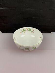 "Wedgwood Wild Strawberry 8"" 20.5 cm Wide New Unused Fruit Serving Bowl"