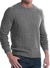 ELLIOT MULRYAN  $380  MENS  2-PLY CASHMERE SWEATER SIZE MED NWT