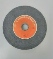 "CARBORUNDUM - GREY GRINDING WHEEL A46 M5 V10  8""X1""X1-1/4"" SA RPM 3600"