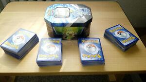 Pokemon Sammelkarten Sammlung 300+ Karten inkl. Box