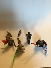 Lego Star Wars Minifigures- Count Dooku-FA-4-Poggle The Lesser-Yoda-From 75017