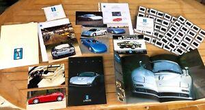 De Tomaso cars press release