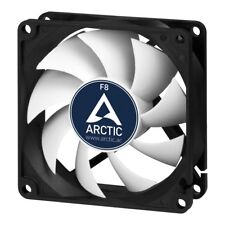 Arctic F8 8cm Computer Case Fan - Up to 2000rpm, Fluid Dynamic, Black & White