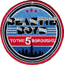 Patch - Beastie Boys To The 5 Boroughs Hip Hop Rap Music Band Iron On Gift 58041