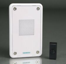 Siemens Con cable Registrable MP3 Avisador De Puerta Kit Con Negro Timbre Botón
