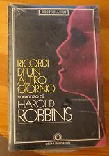 RICORDI DI UN ALTRO GIORNO  romanzo di Harold Robbins (NUOVO)